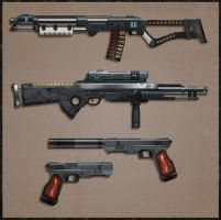 CotV: Assault Weapons by Prospass
