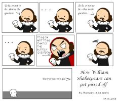 Shakespeare gets pissed off by ami2414
