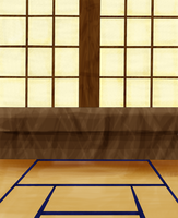 Tatami Background by MoMo2