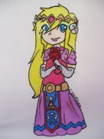 Princess Zelda by CyberSora