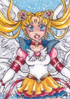 ACEO Eternal Sailor Moon by nickyflamingo