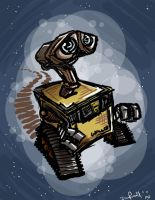 Wall-E final by danidipps