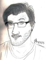 Another Markiplier Sketch by Nightshade28681