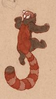 another red panda by luve
