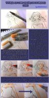 Copic markers tutorial 1 (Spanish - Espanol) by conichic