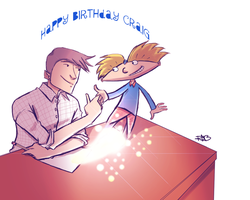 Birthday gift to Craig by DontbeModest