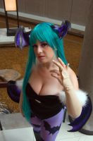Morrigan's Stance by Lily-in-Leather