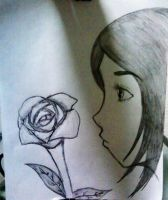 mystories of a simple rose by kritzia-suki