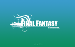 Final Fantasy Vectorwall 1 by th3guardian
