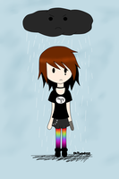 Under the Rain by callycat123