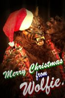 Merry Christmas from Wolfie. by Joker-laugh