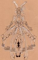Papillon by Cardboard-Octopus