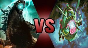 Godzilla VS Rayquaza: The Conflict Part 2