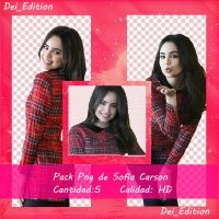 Pack Png De Sofia Carson by fiorydei