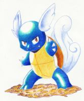 wartortle by despreocupabloart