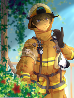 Firefighter by Sol-play