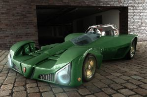 Concept Car - HDRI by HaryHerbert