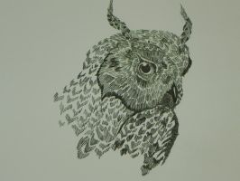 Screech Owl by Blackfoxx24