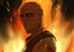The Burned Man by Nateyou