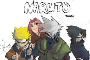 Kakashi's_Team by scabrouspencil