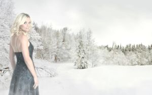 Sofia Winter Wallpaper by FantasyMaker