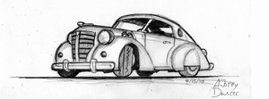30's Gangster Coupe by brothersdude