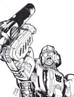 MEGATRON by Optimus8404
