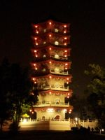 Chinese tower by pehlx94