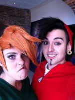 Vicky and Chip Skylark by GinaBCosplay