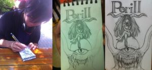 Progress of Perill and LOOK IT'S ME by Aunekx-Keansmu