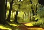 simple forest by StephanBored
