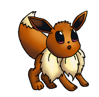 Eevee by Quacksquared