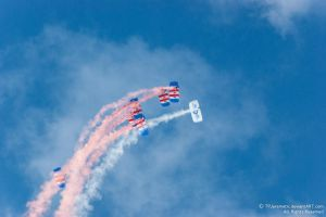 RAF Falcons Parachute Team 3 by TPJerematic