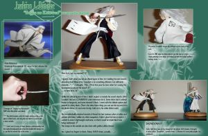 Bleach Maquettes 4 -- Ukitake by Linake