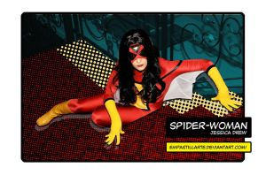 Spider-Woman by empastillarte