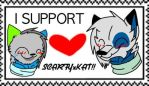 I support ScarfyxKat Stamp!! by ScarfyTheDoge