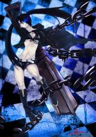 Black Rock Shooter by Qkung