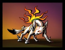 Go Amaterasu by Panther85