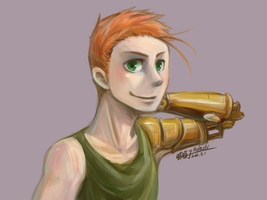 Steampunk_Kevin by aulauly7