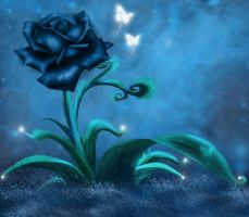 premade background darkrose by H-stock
