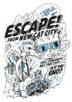 Escape from New Cat City by pete-aeiko