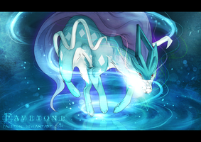 SUICUNE - Aurora beam by Favetoni
