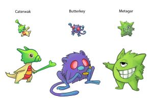Pokefusions by Nightcat06