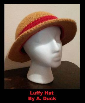 Luffy Hat by Milayou