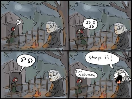 The Witcher 3, doodles 78 by Ayej