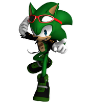 Scourge the Hedgehog by Retro-Red