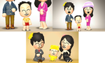 Family Photos - Rion's Family 3 (Tomodachi Life) by Kulit7215