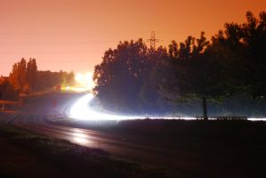 Neon Road by angelwillz
