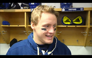 Morgan Rielly Being Interviewed after practice by Musicislove12