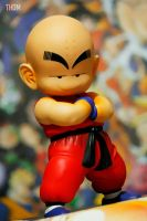 Kulilin figure of dragonball by jeffbedash325